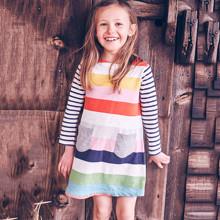 Платье для девочки Полоска (код товара: 43952)