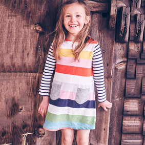 Платье для девочки Полоска (код товара: 43952): купить в Berni