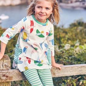 Платье для девочки Птицы (код товара: 43981): купить в Berni