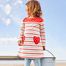 Платье для девочки Сердце оптом (код товара: 43951)