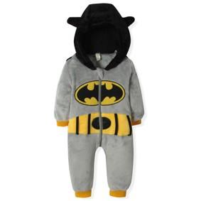 Флисовый комбинезон Бэтмен (код товара: 4405): купить в Berni