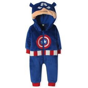Флисовый комбинезон Капитан Америка (код товара: 4407): купить в Berni
