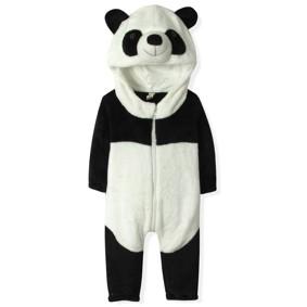 Флисовый комбинезон Панда (код товара: 4417): купить в Berni