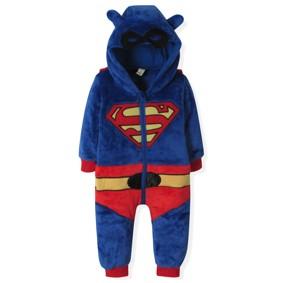 Флисовый комбинезон Супермен (код товара: 4404): купить в Berni
