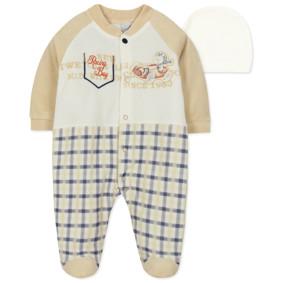 Велюровый человечек и шапочка для мальчика (код товара: 44072): купить в Berni