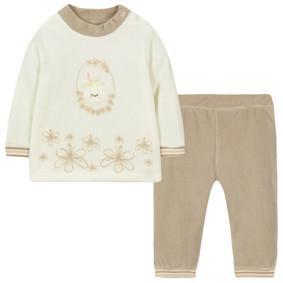 Велюровый костюм 2 в 1 для девочки (код товара: 44090): купить в Berni