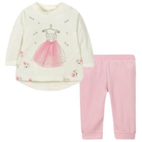 Велюровый костюм 2 в 1 для девочки (код товара: 44092): купить в Berni