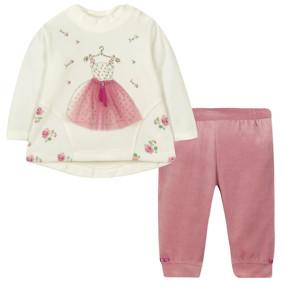 Велюровый костюм 2 в 1 для девочки (код товара: 44093): купить в Berni