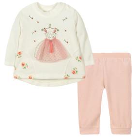 Велюровый костюм 2 в 1 для девочки (код товара: 44094): купить в Berni