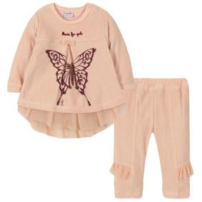 Велюровый костюм 2 в 1 для девочки (код товара: 44095): купить в Berni