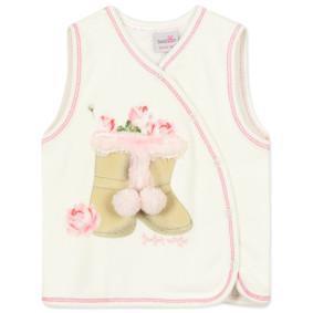 Велюровый жилет на флисе для девочки (код товара: 44037): купить в Berni