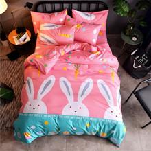Комплект постельного белья Кролик (полуторный) оптом (код товара: 44114)