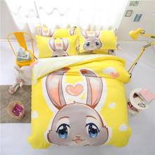 Комплект постільної білизни Кролик (полуторний) оптом (код товара: 44179)