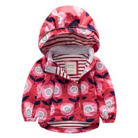 Куртка для девочки Цветы (код товара: 44118): купить в Berni