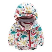 Куртка для девочки Цветы (код товара: 44119)