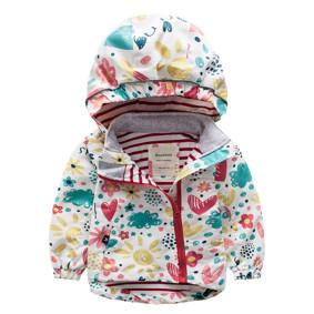Куртка для девочки Цветы (код товара: 44119): купить в Berni