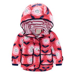 Куртка для девочки Цветы (код товара: 44125): купить в Berni