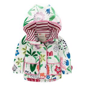 Куртка для девочки Цветы (код товара: 44126): купить в Berni