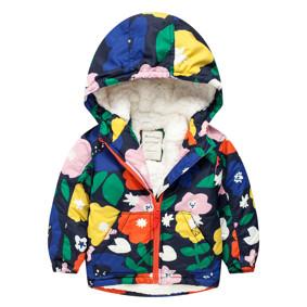 Куртка для девочки Цветы (код товара: 44129): купить в Berni