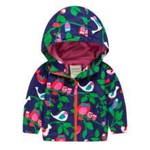 Куртка для дівчинки демісезонна Птахи (код товара: 44139)