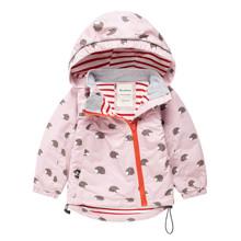 Куртка для дівчинки Їжак оптом (код товара: 44116)
