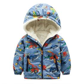 Куртка для мальчика Трактор (код товара: 44141): купить в Berni
