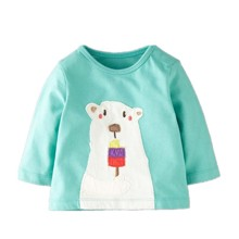 Лонгслив детский Белый медведь (код товара: 44193)