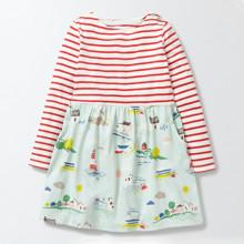 Платье для девочки Море (код товара: 44195)