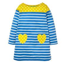 Платье для девочки Сердце оптом (код товара: 44148)