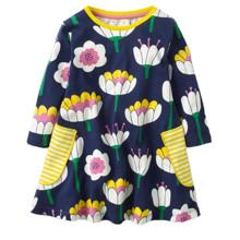 Платье для девочки Водяная лилия (код товара: 44145)