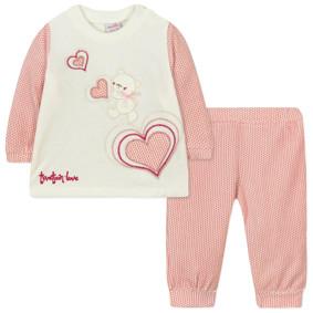Велюровый костюм 2 в 1 для девочки (код товара: 44100): купить в Berni