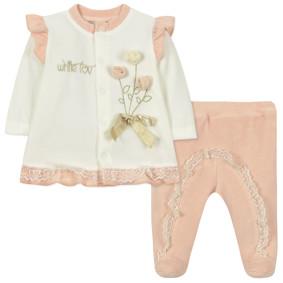 Велюровый костюм 2 в 1 для девочки (код товара: 44101): купить в Berni