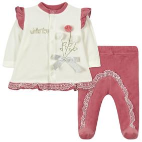 Велюровый костюм 2 в 1 для девочки (код товара: 44102): купить в Berni