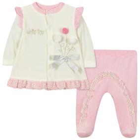 Велюровый костюм 2 в 1 для девочки (код товара: 44103): купить в Berni
