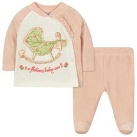 Велюровый костюм 2 в 1 для девочки (код товара: 44104): купить в Berni