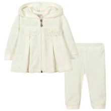 Велюровый костюм 2 в 1 для девочки оптом (код товара: 44106)