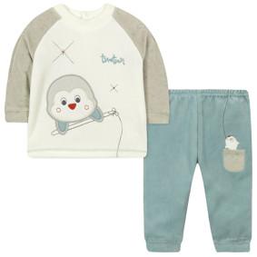 Велюровый костюм 2 в 1 для мальчика (код товара: 44107): купить в Berni