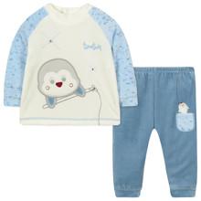 Велюровый костюм 2 в 1 для мальчика оптом (код товара: 44108)