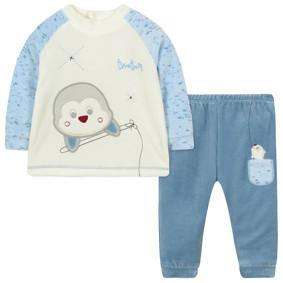 Велюровый костюм 2 в 1 для мальчика (код товара: 44108): купить в Berni