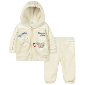 Велюровый костюм на флисе 2 в 1 (код товара: 44110): купить в Berni