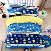 Комплект постельного белья Цветочный узор (полуторный) (код товара: 44248)