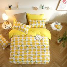 Комплект постільної білизни Лимон (полуторний) оптом (код товара: 44242)