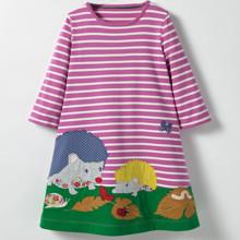Платье для девочки Лесные друзья (код товара: 44217)