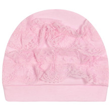 Шапка для новонародженої дівчинки оптом (код товара: 44262)