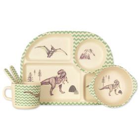 Набор посуды из бамбукового волокна Динозавры (код товара: 44388): купить в Berni