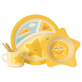 Набор посуды из бамбукового волокна Морская звезда (код товара: 44395): купить в Berni