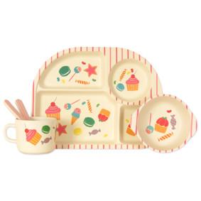 Набор посуды из бамбукового волокна Сладости (код товара: 44390): купить в Berni