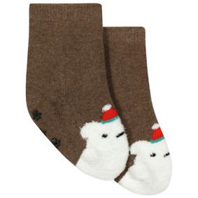 Детские антискользящие носки с начесом Медведь (код товара: 44481): купить в Berni