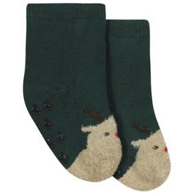 Детские антискользящие носки с начесом  Олень (код товара: 44484): купить в Berni