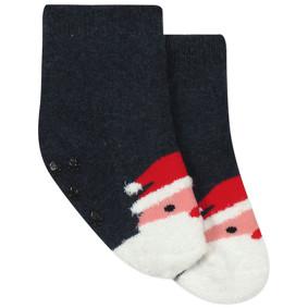 Детские антискользящие носки с начесом Санта Клаус (код товара: 44482): купить в Berni